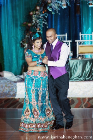 Indian-wedding-bride-groom-dancing