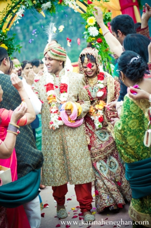 Indian-wedding-bride-groom-just-married