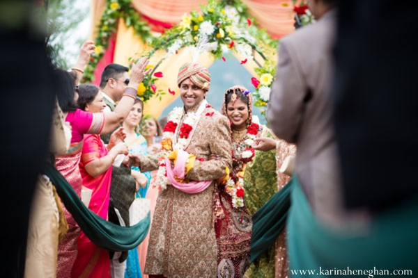 Indian-wedding-bride-groom-leave-ceremony