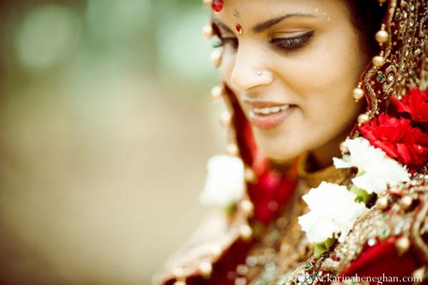 Indian-wedding-bride-portrait-smile