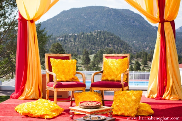 Indian-wedding-ceremony-beautiful-colorful-mandap