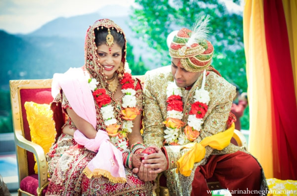 Indian-wedding-couple-at-ceremony-love