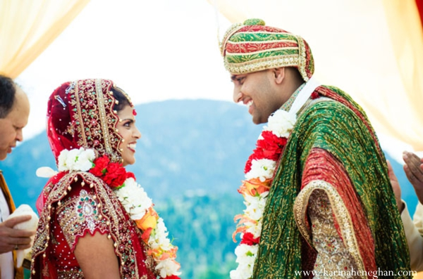 Indian-wedding-couple-at-ceremony