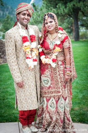 Indian-wedding-couple-portrait-bride-and-groom
