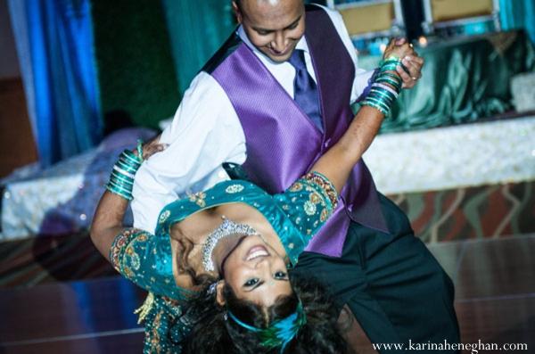 Indian-wedding-dance-bride-groom-dip-dance