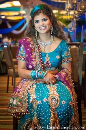 Indian-wedding-portrait-bride-reception