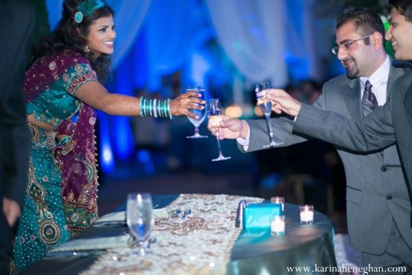 Indian-wedding-reception-toast
