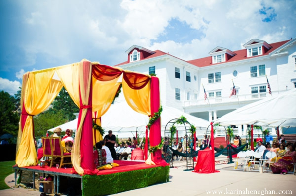 Indian-wedding-venue-mandap-fabric-vibrant