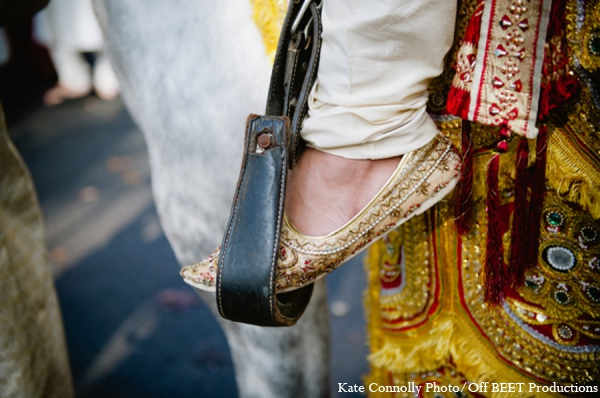 Indian wedding baraat in Rockleigh, New Jersey Indian Wedding by Kate Connolly Photography