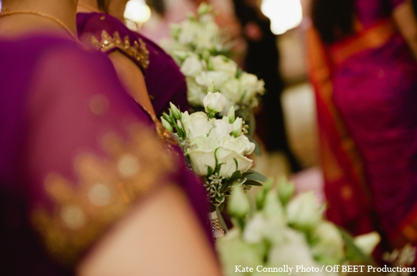 Indian wedding bridal bouquets in Rockleigh, New Jersey Indian Wedding by Kate Connolly Photography