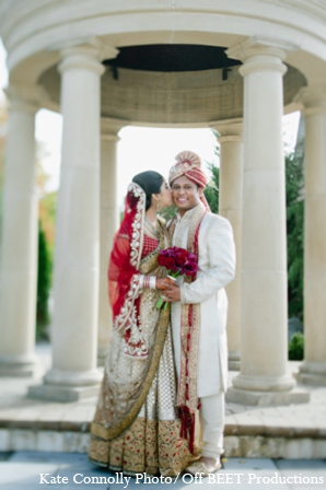 Indian wedding bride groom images in Rockleigh, New Jersey Indian Wedding by Kate Connolly Photography
