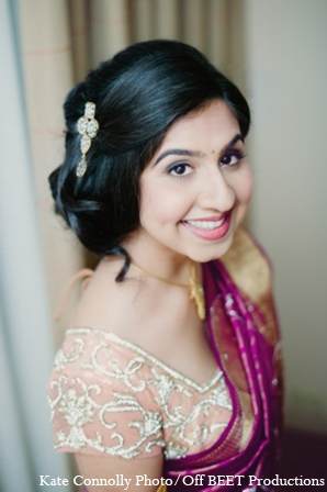 Indian wedding bride in Rockleigh, New Jersey Indian Wedding by Kate Connolly Photography