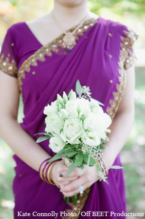 Indian wedding bridesmaid dress in Rockleigh, New Jersey Indian Wedding by Kate Connolly Photography