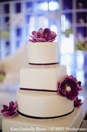 Indian wedding cake in Rockleigh, New Jersey Indian Wedding by Kate Connolly Photography