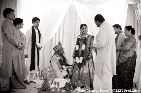Indian wedding ceremony in Rockleigh, New Jersey Indian Wedding by Kate Connolly Photography