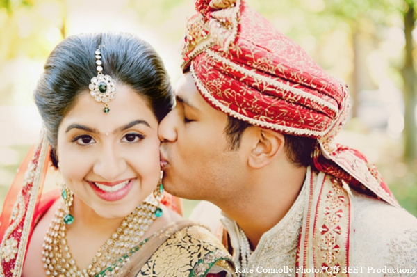 Indian wedding couple photos in Rockleigh, New Jersey Indian Wedding by Kate Connolly Photography