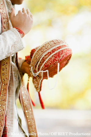 Indian wedding groom accessories in Rockleigh, New Jersey Indian Wedding by Kate Connolly Photography