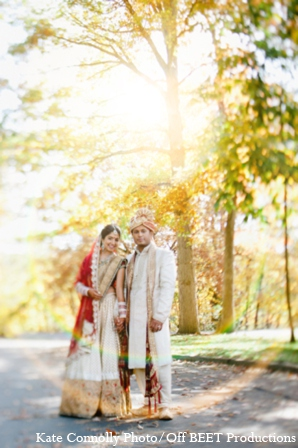 Indian wedding outdoor photos in Rockleigh, New Jersey Indian Wedding by Kate Connolly Photography