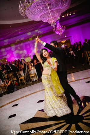 Indian wedding reception venue in Rockleigh, New Jersey Indian Wedding by Kate Connolly Photography