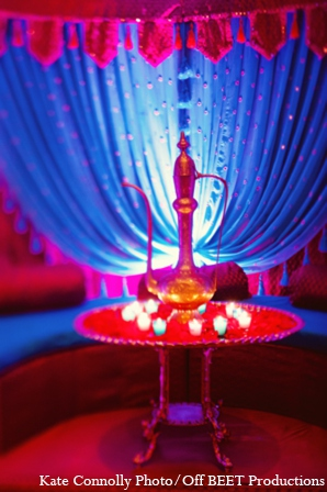 Indian wedding sangeet decor in Rockleigh, New Jersey Indian Wedding by Kate Connolly Photography