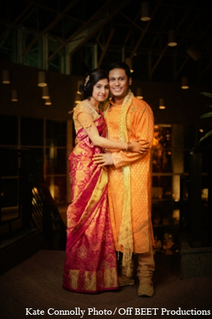 Indian wedding sangeet outfits in Rockleigh, New Jersey Indian Wedding by Kate Connolly Photography