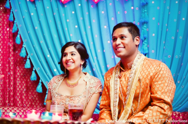 Indian wedding sangeet photos in Rockleigh, New Jersey Indian Wedding by Kate Connolly Photography