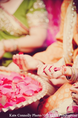 Indianweddingsangeet traditions in Rockleigh, New Jersey Indian Wedding by Kate Connolly Photography