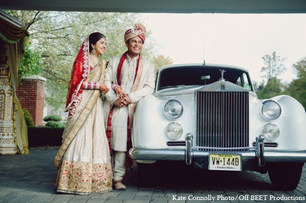 Indian wedding transportation in Rockleigh, New Jersey Indian Wedding by Kate Connolly Photography