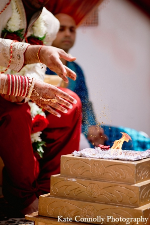 Indian wedding ceremony riturals hindu in Neptune, New Jersey Indian Wedding by Kate Connolly Photography
