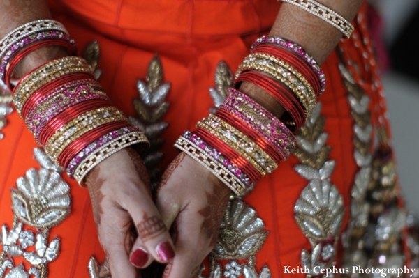 Indian-wedding-bride-lengha-bangles