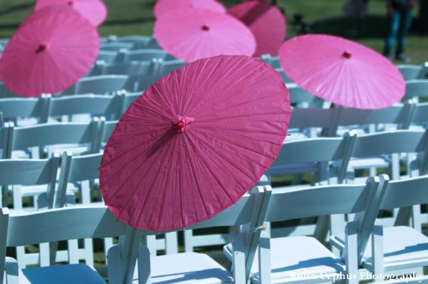 Indian-wedding-ceremony-decor-parasols
