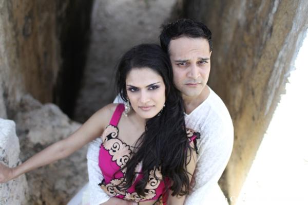 Indian-wedding-groom-bride-portrait