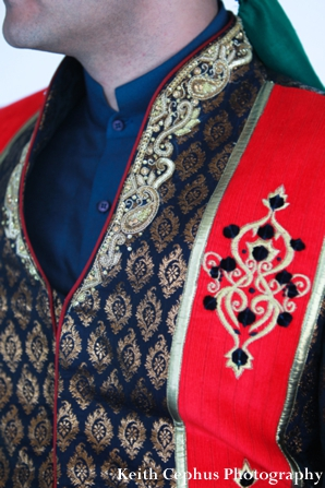 Indian-wedding-groom-sherwani-red