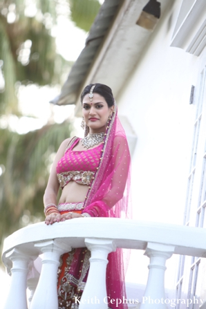 Indian-wedding-portrait-bride-outdoors