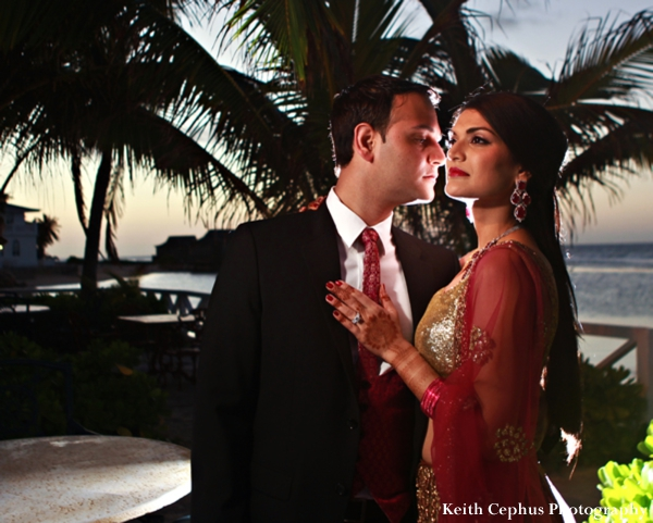 Indian-wedding-reception-bride-groom-portrait