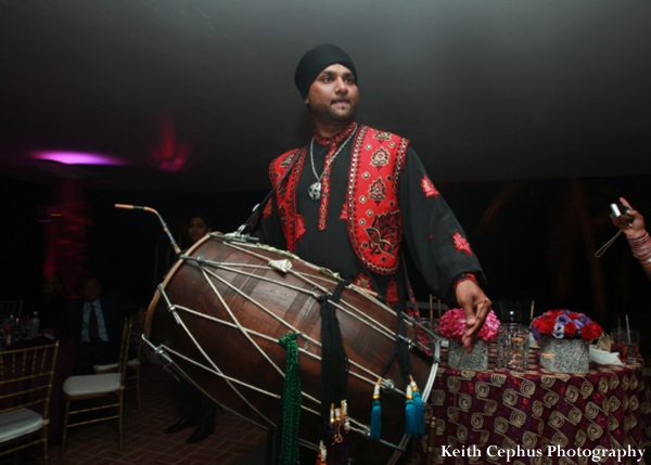 Indian-wedding-reception-dholl-player