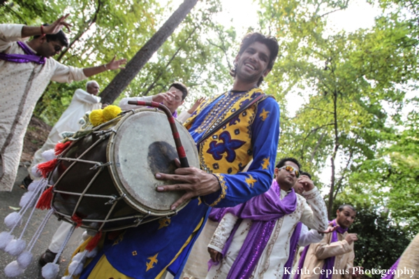 Indian-wedding-baraat-drummer