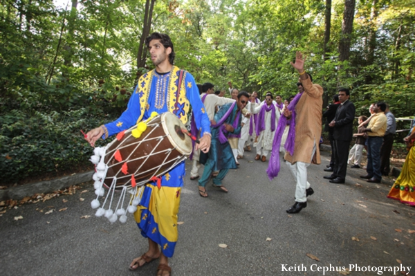 Indian-wedding-baraat-guests-drum
