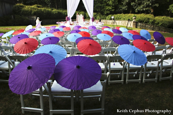 indian-wedding-ceremony-decor-colorful-parasols