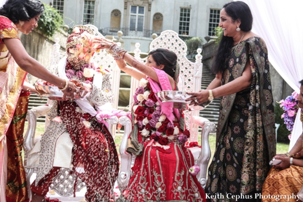Indian-wedding-ceremony-floral-bride-party