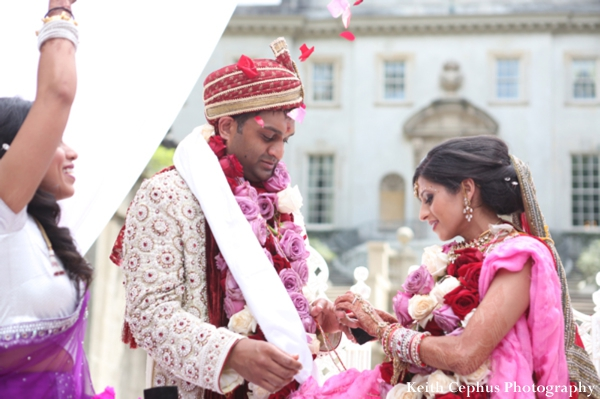 Indian-wedding-ceremony-groom-floral-bride