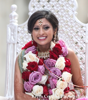 Indian-wedding-ceremony-portrait-bride-floral