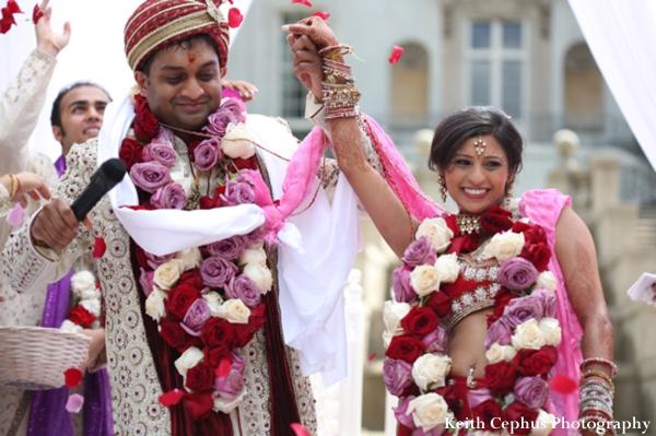 Indian-wedding-ceremonygroom-bride-floral