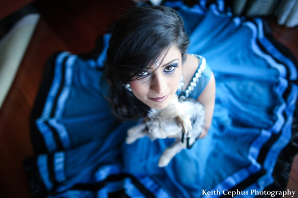Indian-wedding-portrait-bride-inspiration-dog
