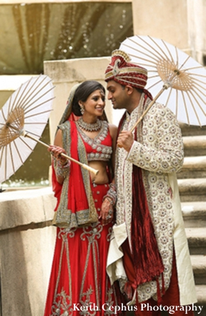 Indian-wedding-portrait-couple-before-ceremony