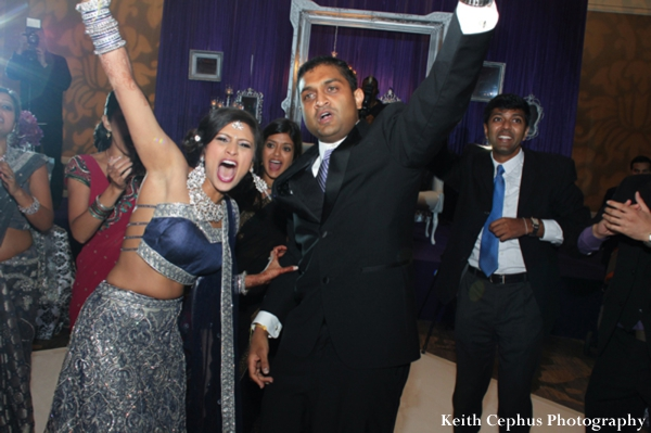 Indian-wedding-reception-party-bride-groom