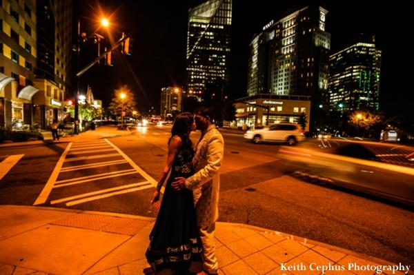 Indian-wedding-reception-portrait-bride-groom-cityscape