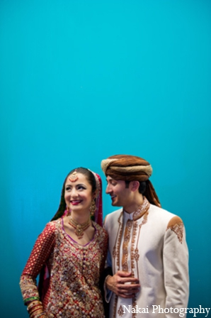 Indian bride groom pictures in Chicago, Illinois Pakistani Fusion Wedding by Nakai Photography