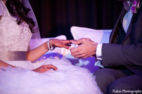 Indian wedding bridal fashion in Chicago, Illinois Pakistani Fusion Wedding by Nakai Photography