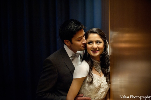 Indian wedding bride groom photo in Chicago, Illinois Pakistani Fusion Wedding by Nakai Photography